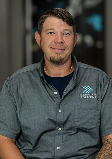 Neil Mathews, Installation Technician at Engrave-Tech & Graphics